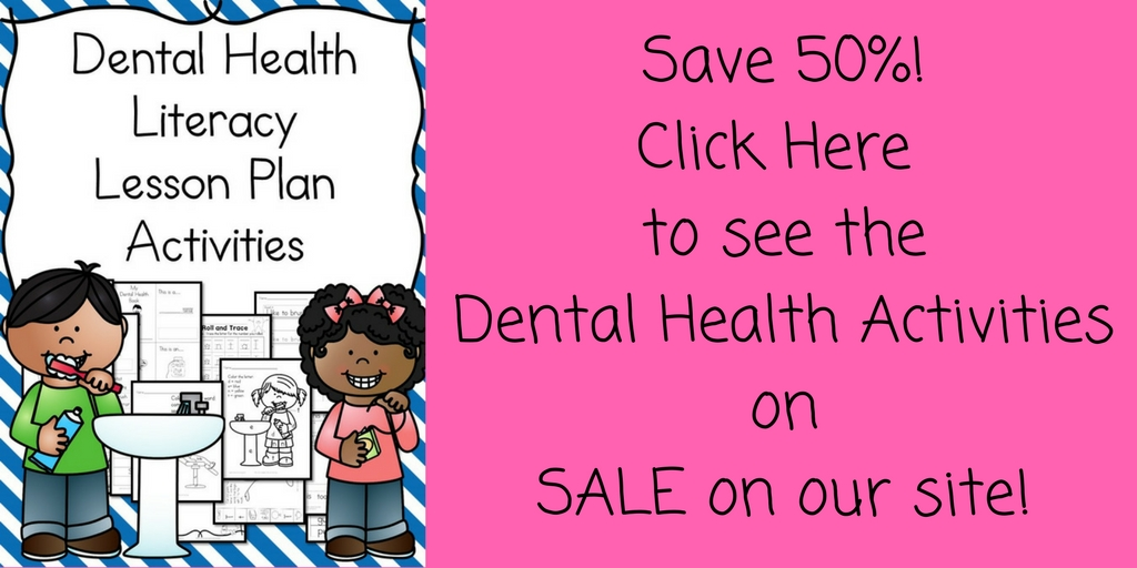 Dental Health Kindergarten Lesson Plan - with a fun craft too! - lesson plan