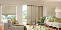 Best Panel Track Blinds For Glass Doors | ZebraBlinds