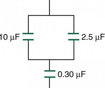 Capacitors in Series and Parallel Physics