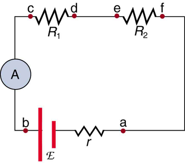 Voltmeters and Ammeters Boundless Physics