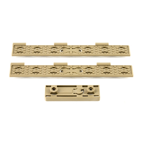 KNIGHTS ARMAMENT COMPANY KAC KEYMOD WIRE MGMT PANEL KIT FDE