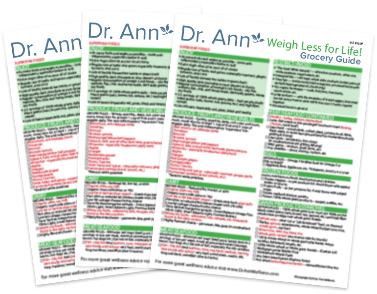 Grocery Guides - Dr Ann Wellness