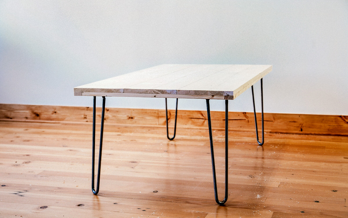 Diy Desk With Hairpin Legs Diy Hairpin Leg Coffee Table Dunn Diy