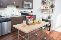 How to Build a Kitchen Table on Wheels