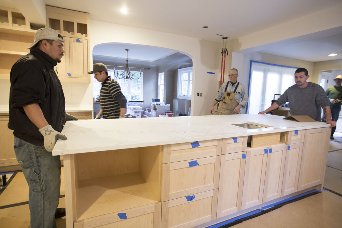 Installing A Countertop How To Install Custom Stone Countertops