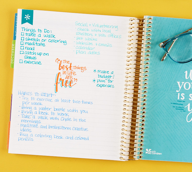 Learn More About LifePlanner™ Build Your Own Erin Condren