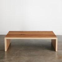 Ash Coffee Table - Elko Hardwoods   Modern Live Edge ...