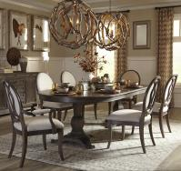7-Piece Double Pedestal Dining Table Set by A.R.T ...