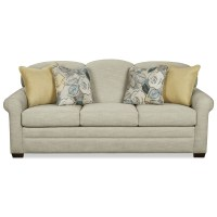 Camelback Sleeper Sofa with Queen Mattress by Craftmaster ...