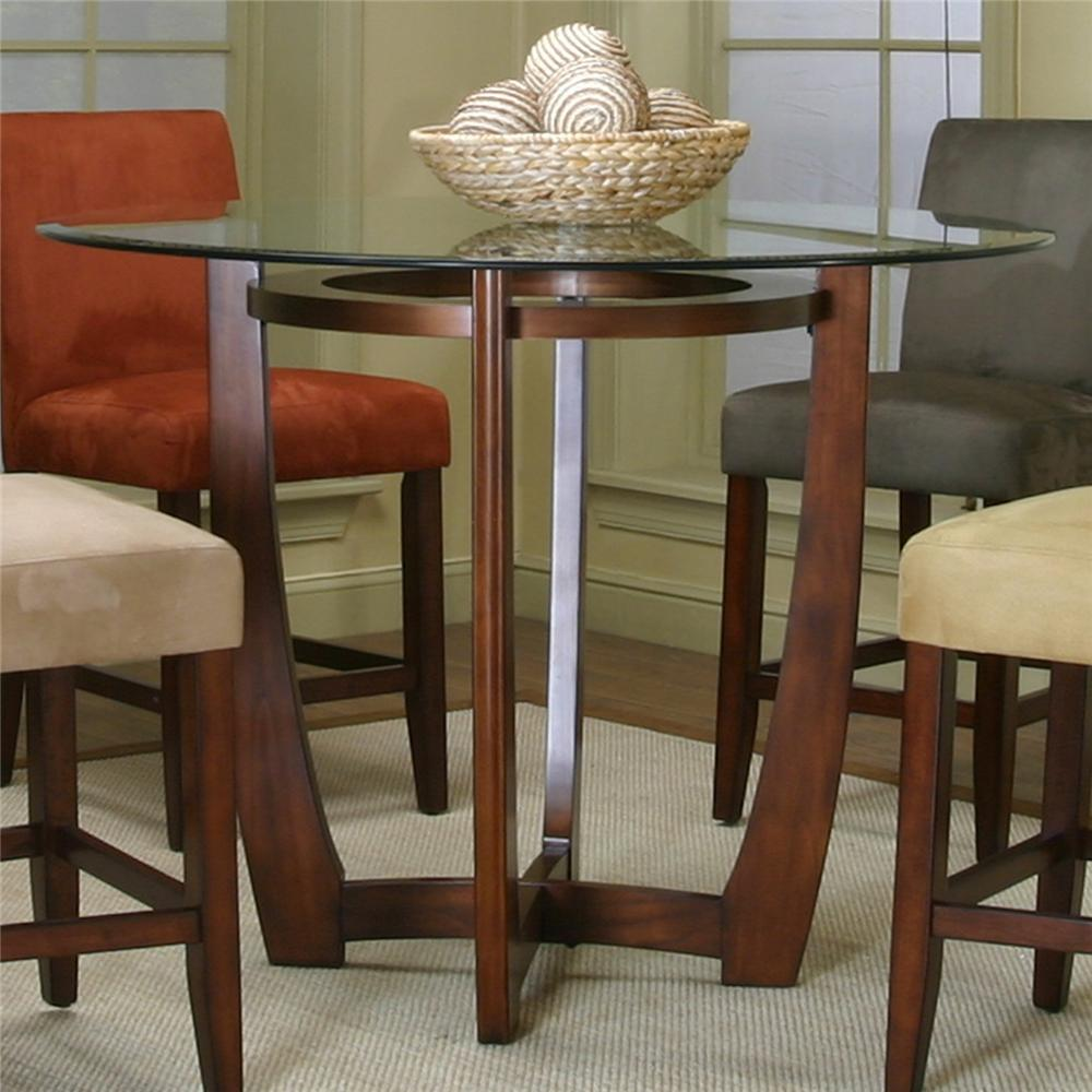 counter height kitchen table Counter Height Dining Table with Cherry Wood Base