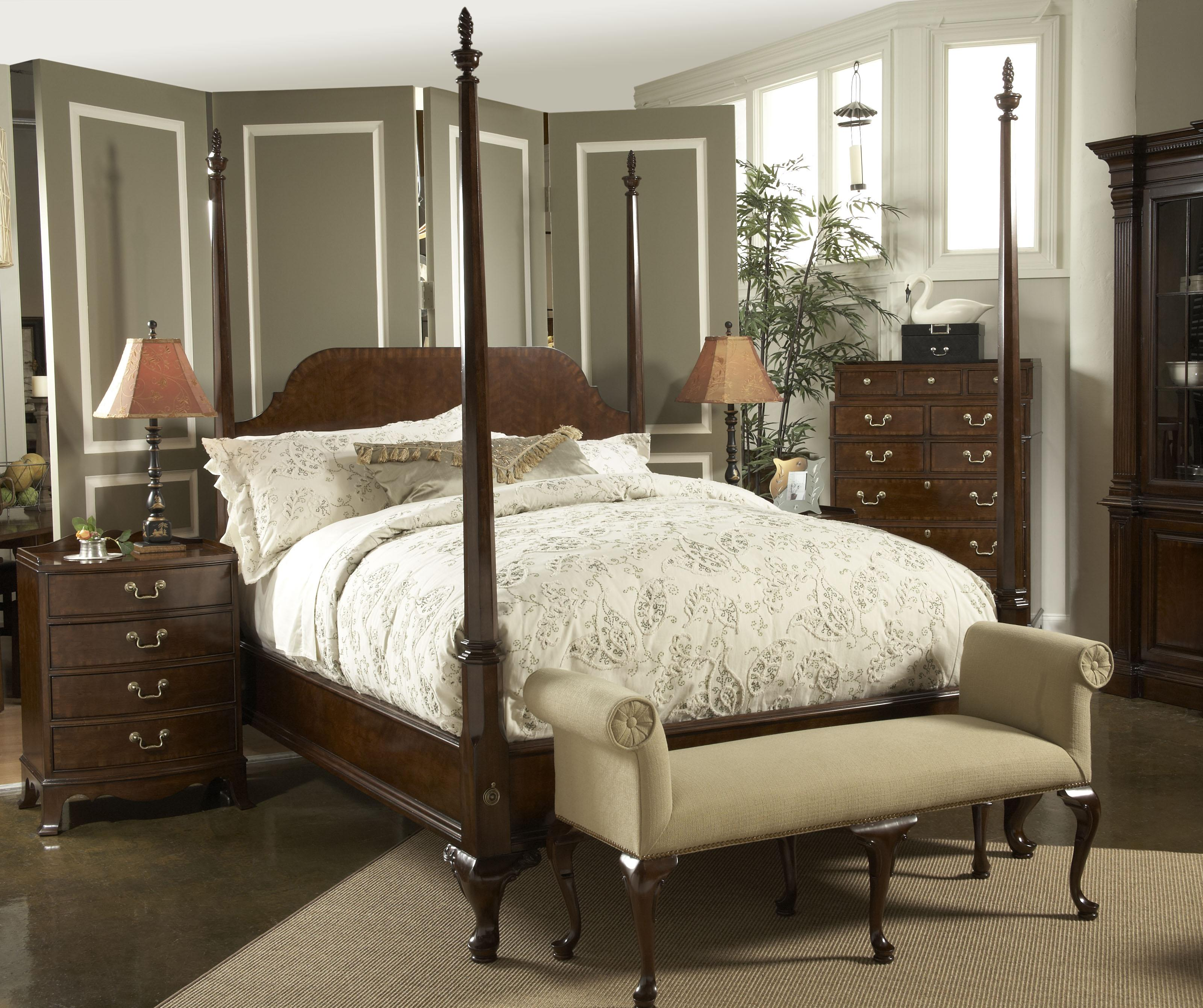 King Bed With Posts California King Size Bridgeport Pencil Poster Bed By Fine