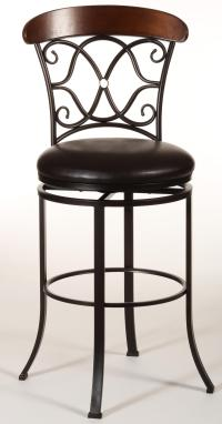 Dundee Swivel Counter Stool by Hillsdale | Wolf and ...
