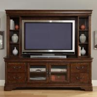 Entertainment TV Stand & Hutch by Liberty Furniture | Wolf ...