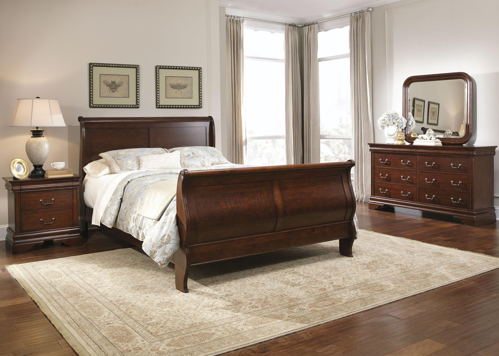 Queen Beds Online Queen Sleigh Bed By Liberty Furniture Wolf And Gardiner
