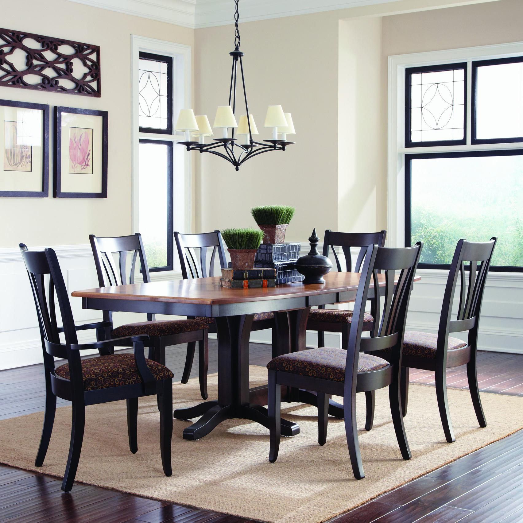 Tables En Palettes Customizable 7 Pc Table Chair Set By Palettes By Winesburg