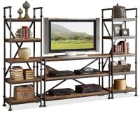 Open Entertainment Wall Unit with 12 Shelves by Riverside ...