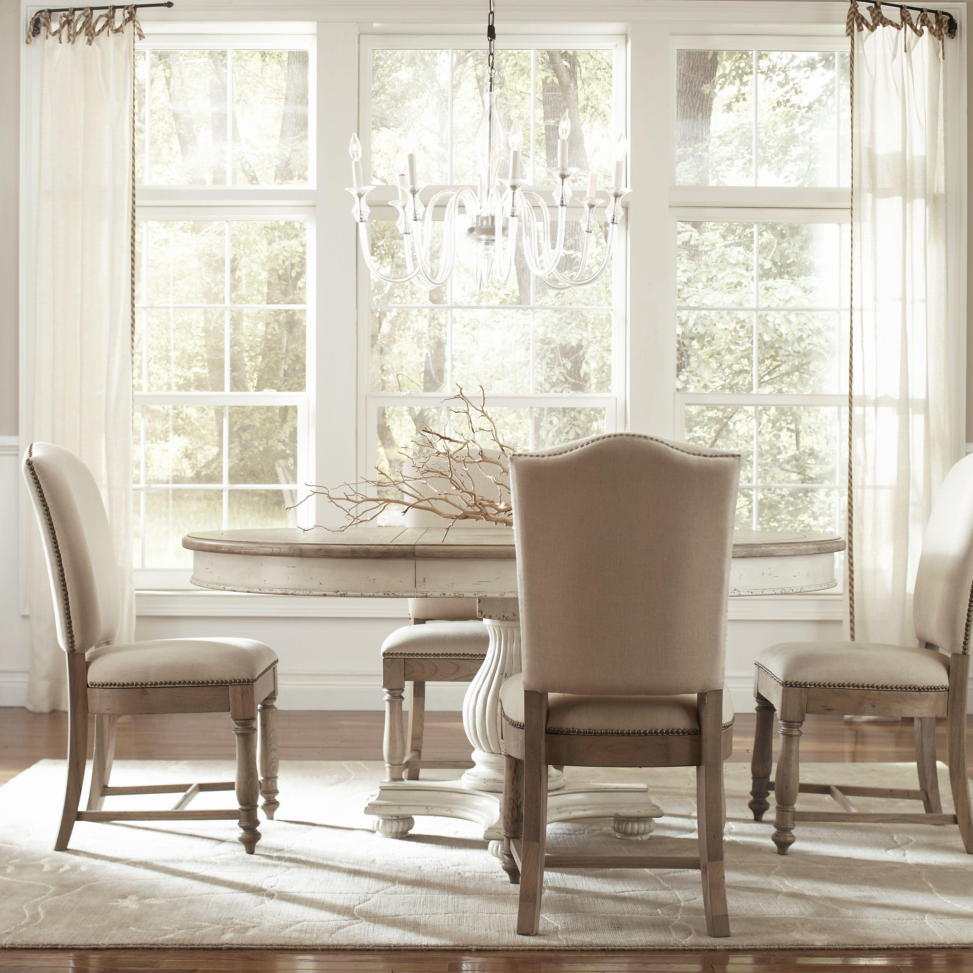 pedestal kitchen table Round Dining Table