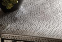 Hammered Metal Hexagon Coffee Table by Riverside Furniture ...