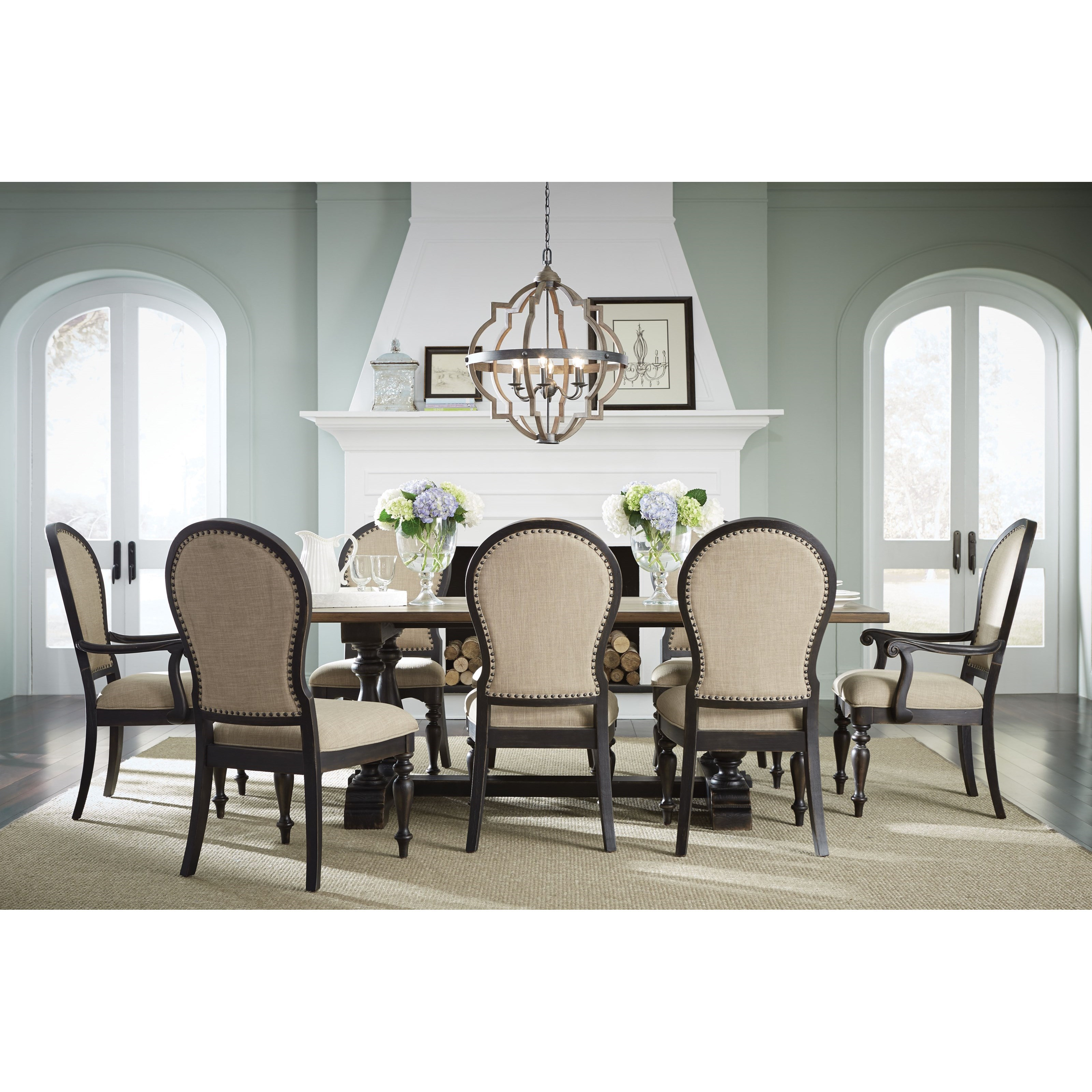 two tone kitchen table Dining Table
