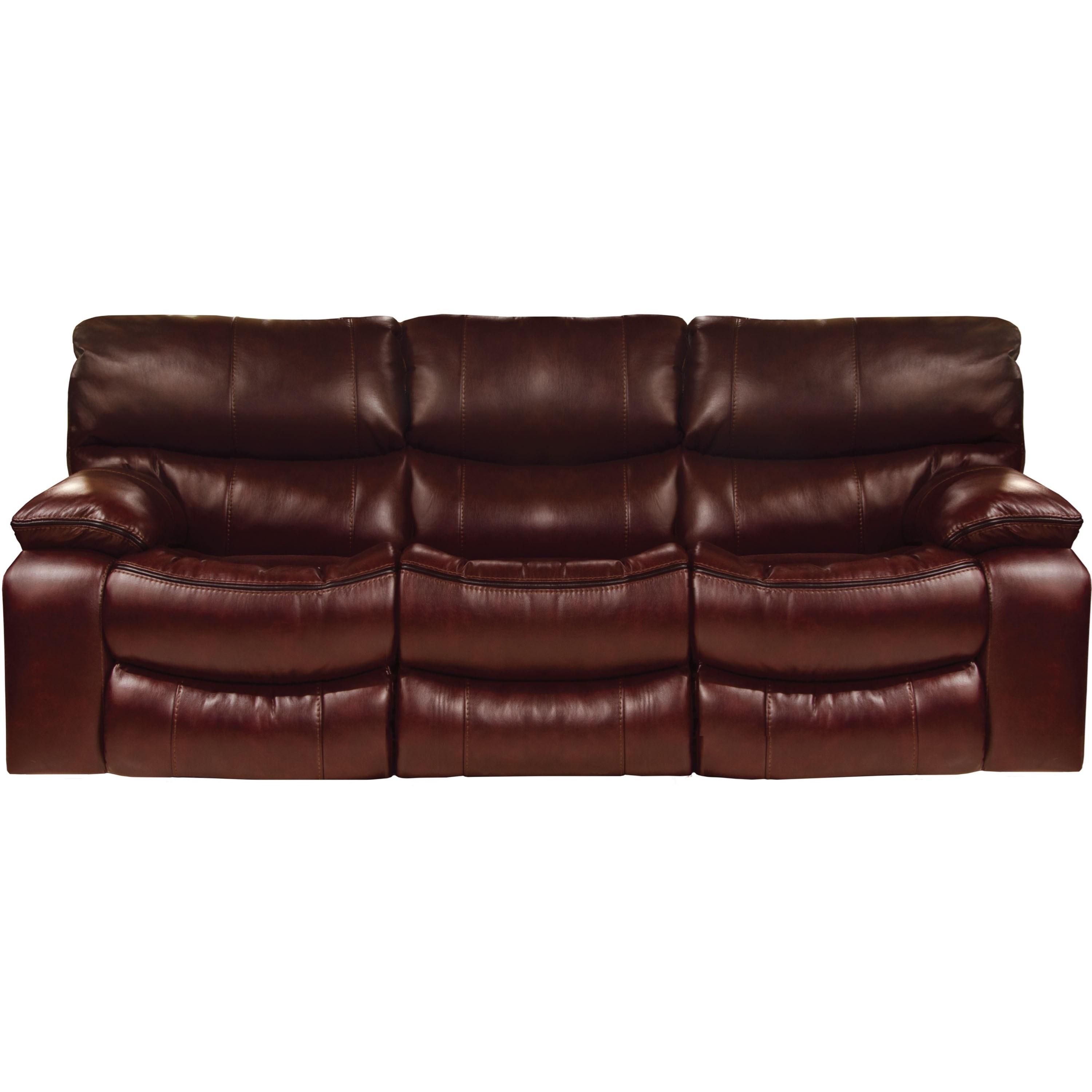 Sofa Welt Lay Flat Reclining Sofa With Welt Stitching By Catnapper