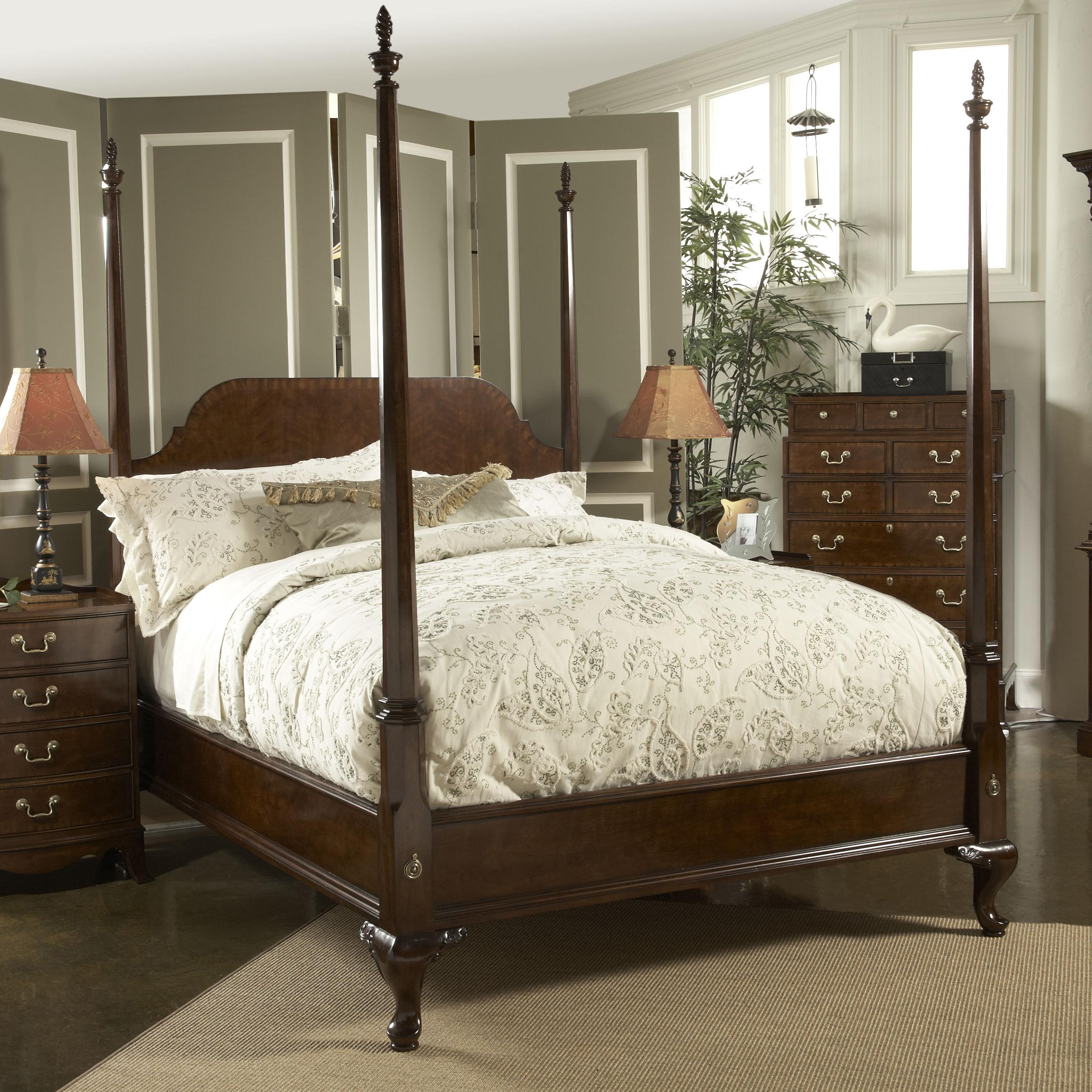 High Poster Bed King King Size Bridgeport Pencil Poster Bed By Fine Furniture