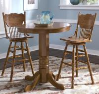 3-Piece Round Pub Table Dining Set by Liberty Furniture ...