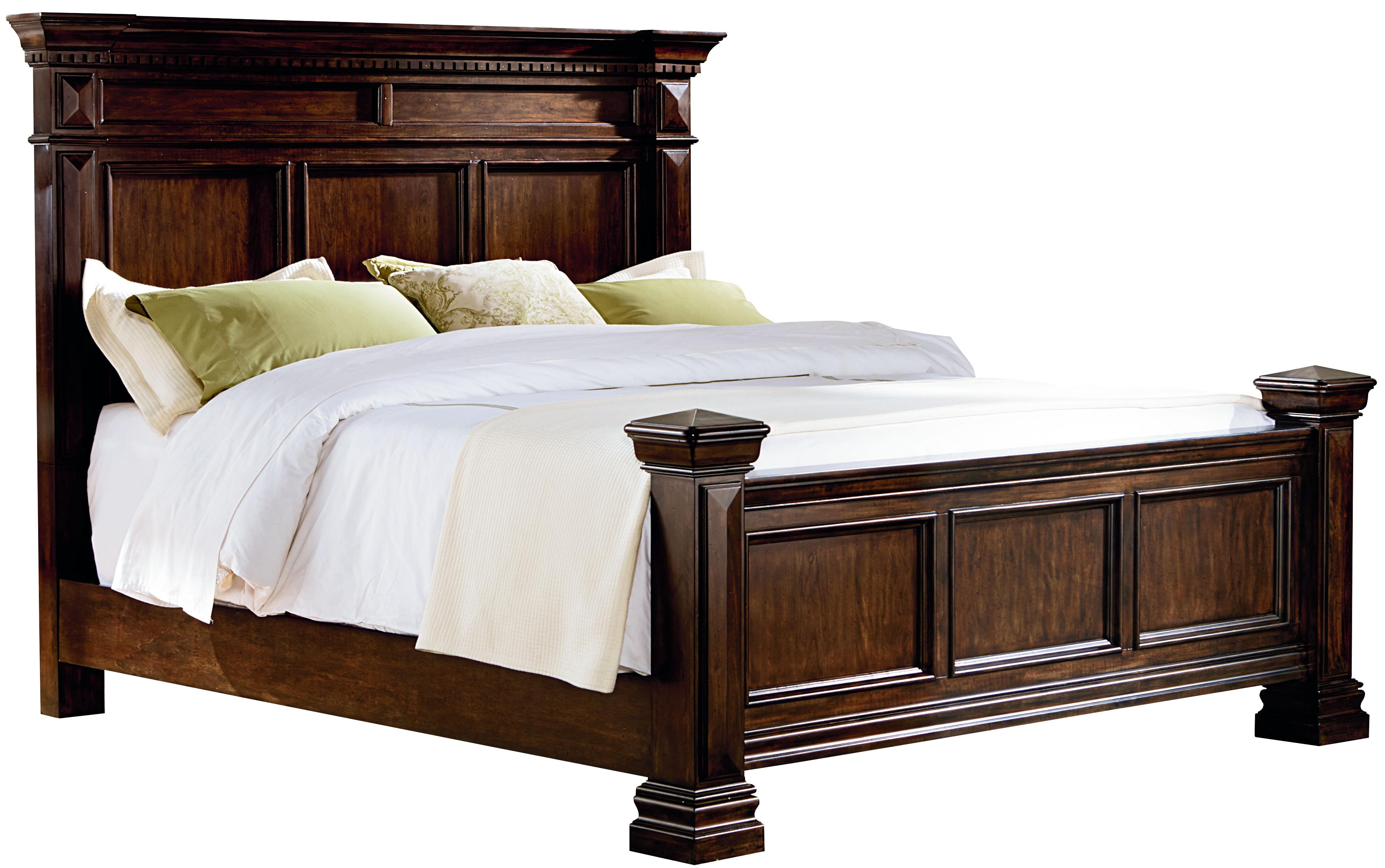 What Is A Panel Bed Traditional King Panel Bed With Dentil Molding By Standard