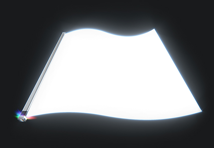 Led Front Light Guide Film Panel Reflective Displays