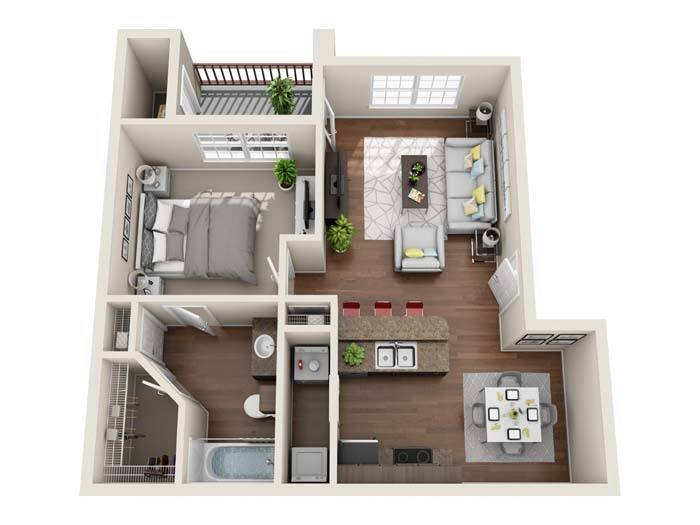Luxury 1, 2 \ 3 Bedroom Apartments In San Antonio, TX   One Bedroom