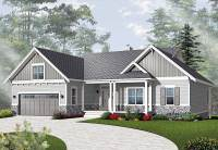 Airy Craftsman-Style Ranch - 21940DR | Architectural ...