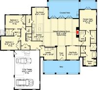 High-End Southern House Plan - 42837MJ | Architectural ...