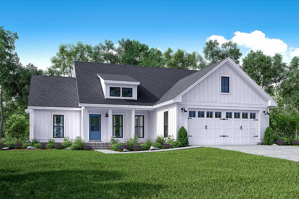 Architecture Design House Plans Exclusive 3 Bed Farmhouse With Tremendous Curb Appeal