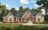 One Level Luxury Craftsman Home - 36034DK   Architectural ...