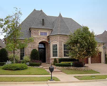 Old World Outside, Modern Inside - 36268TX   Architectural Designs - House Plans