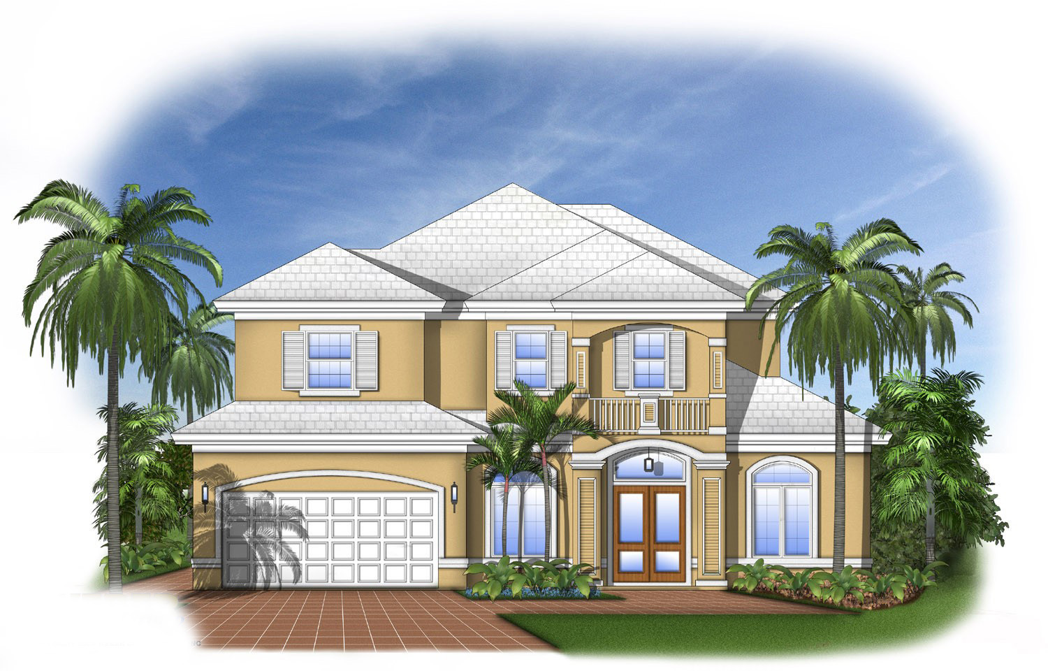 Architecture Design House Plans Florida House Plan With Open Layout 66102we