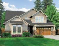 Craftsman with Vaulted Ceilings - 69098AM | Architectural ...