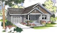 Modest Home Plan Offers Modern Amenities - 72581DA ...