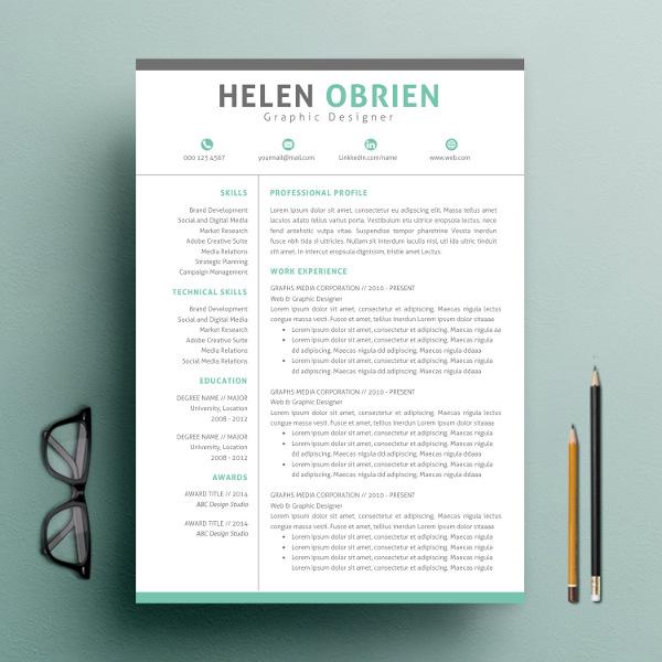 Basic Resume Template 2018 List of 10+ Basic Resume Templates