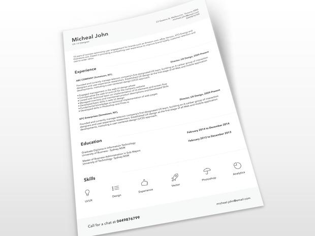 Free Resume Templates 2019 List of 10+ Free Resume Templates