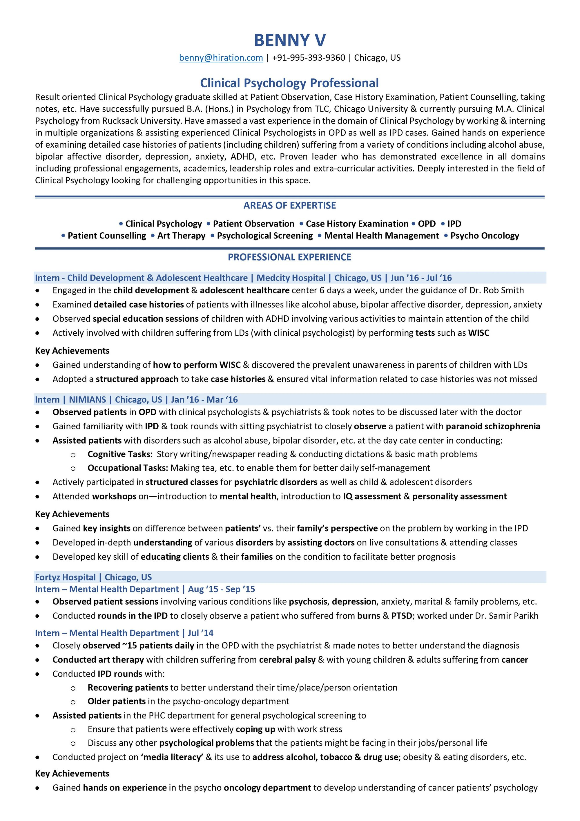academic resume template for scholarship