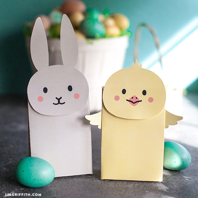 Make Your Own Easter Goodie Bags - Lia Griffith