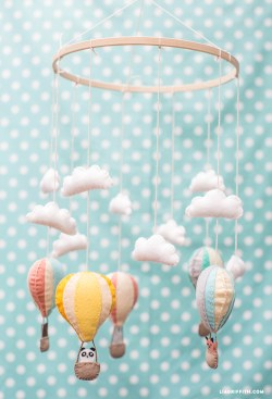 Soothing Hot Air Balloon Baby Mobile Hot Air Balloon Baby Mobile Lia Griffith Diy Baby Mobile Motor Diy Baby Mobile Black