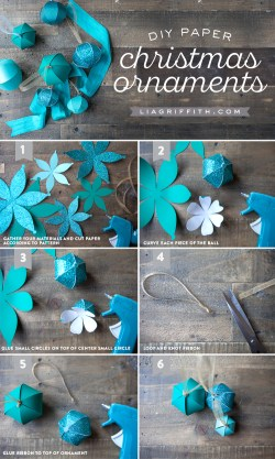Indulging Diy Paper Ornaments Lia Griffith Paper Decorations Templates Paper Decorations Windows