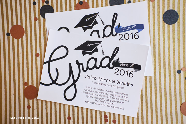 Printable Graduation Party Invitations - graduation party invitations