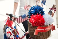 Patriotic Bicycle Decor for Independence Day - Lia Griffith