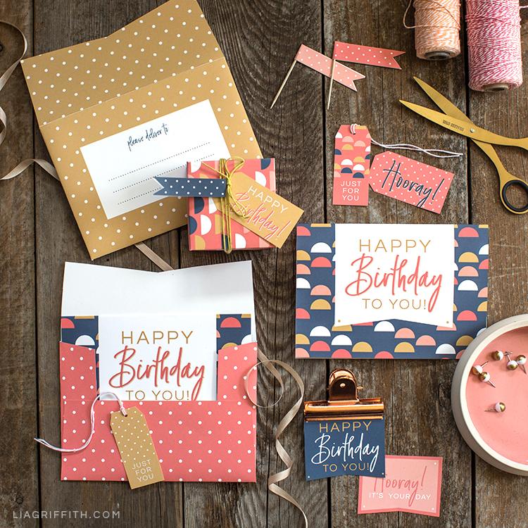 Canon\u0027s New Crafting Printer + Printable Birthday Cards - Lia Griffith