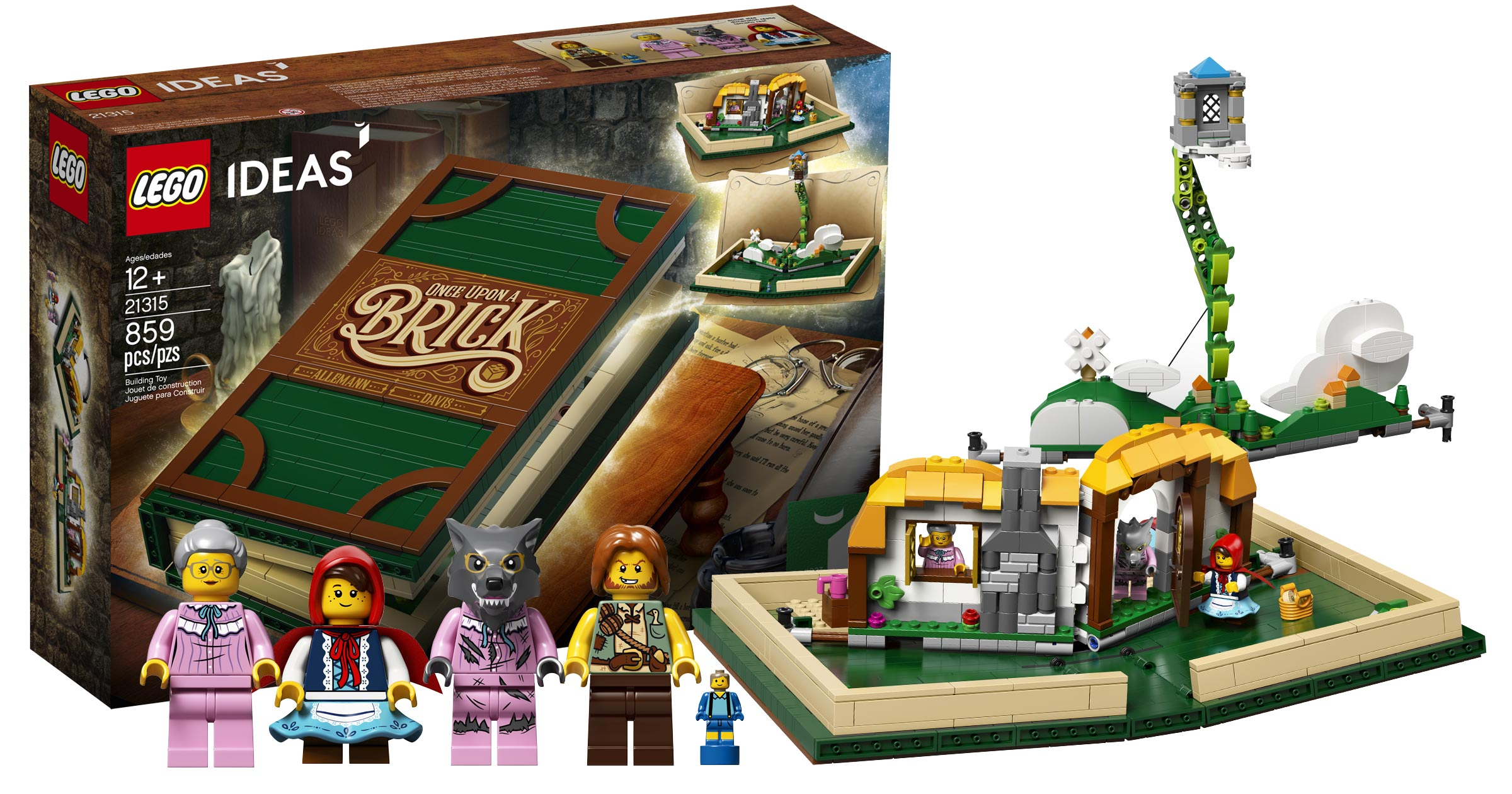 Pop Up Book Cover Lego Ideas 21315 Pop Up Book Cover The Brothers Brick