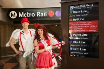LA Metro Speed Dating on the Red Line 2015