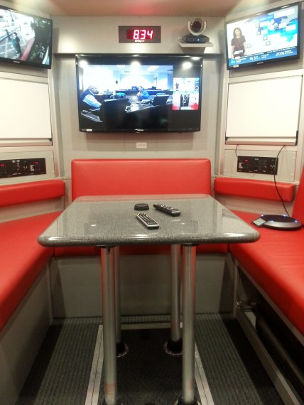 Incident command center/video conference room.