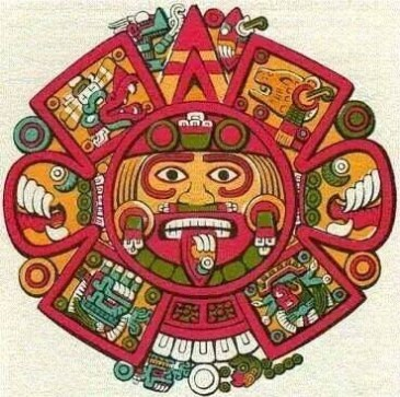 Aztec Sun Stone via Mexica New Year LA Official Facebook.